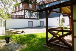 Außenbereich Hotel Landgut Aschenhof