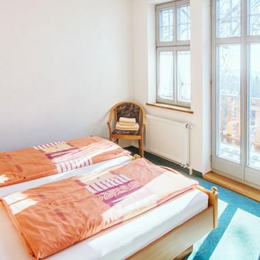 Familienzimmer mit Balkon Hotel Landgut Aschenhof