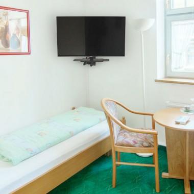 Einzelzimmer | Hotel Landgut Aschenhof